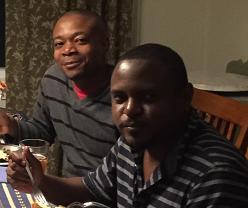BWH Hait Admin Fellows Samahel Joseph (r) and Voltaire jean (l)